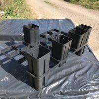 24 Hole Pot Trays - single tray with legs